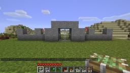 Piston Door (world save) Minecraft Map & Project