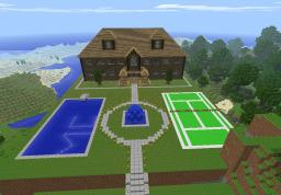 Epic House Minecraft Map & Project