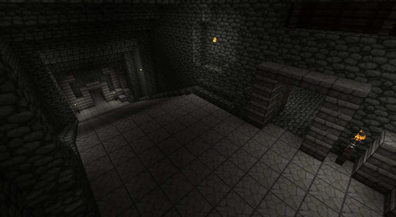 Hallway to the groto