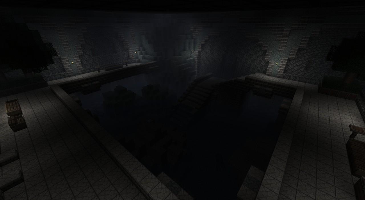 The groto below the basement