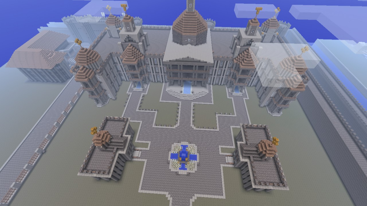 An overall view of the palace, Eldpack all up in this