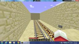 Double Hidden Door Minecart Tunnel Thing-a-ma-Bob Minecraft Map & Project