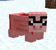 Nerd Pig Minecraft Texture Pack