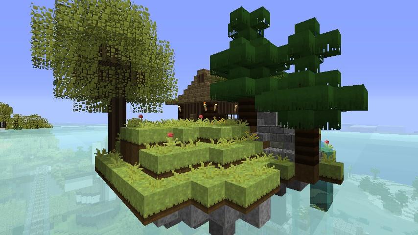 A flying island