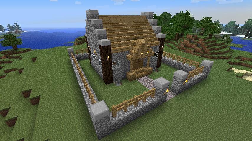 Small Dog House Ideas Minecraft