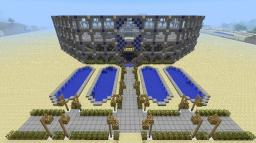 Blue & White Coliseum (requires update 1.7) Minecraft Map & Project