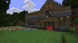 Drascoll's Minecart Station Minecraft Project