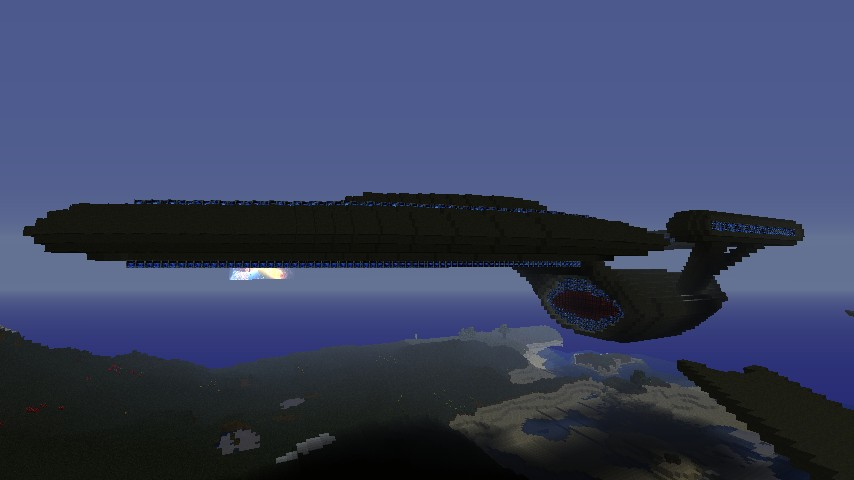 Star trek federation style ship minecraft project for Star trek online crafting leveling guide