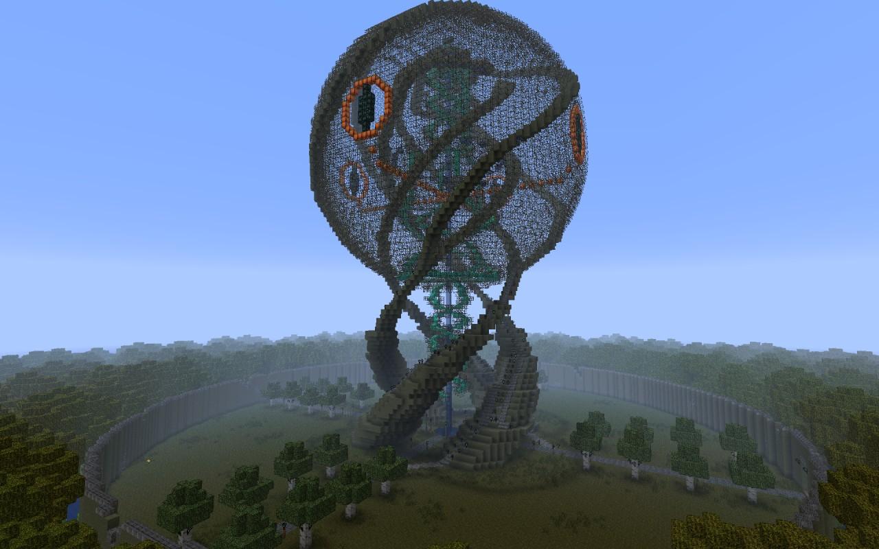 Eye of sauron minecraft schematic