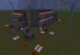 Piston House. Minecraft Map & Project