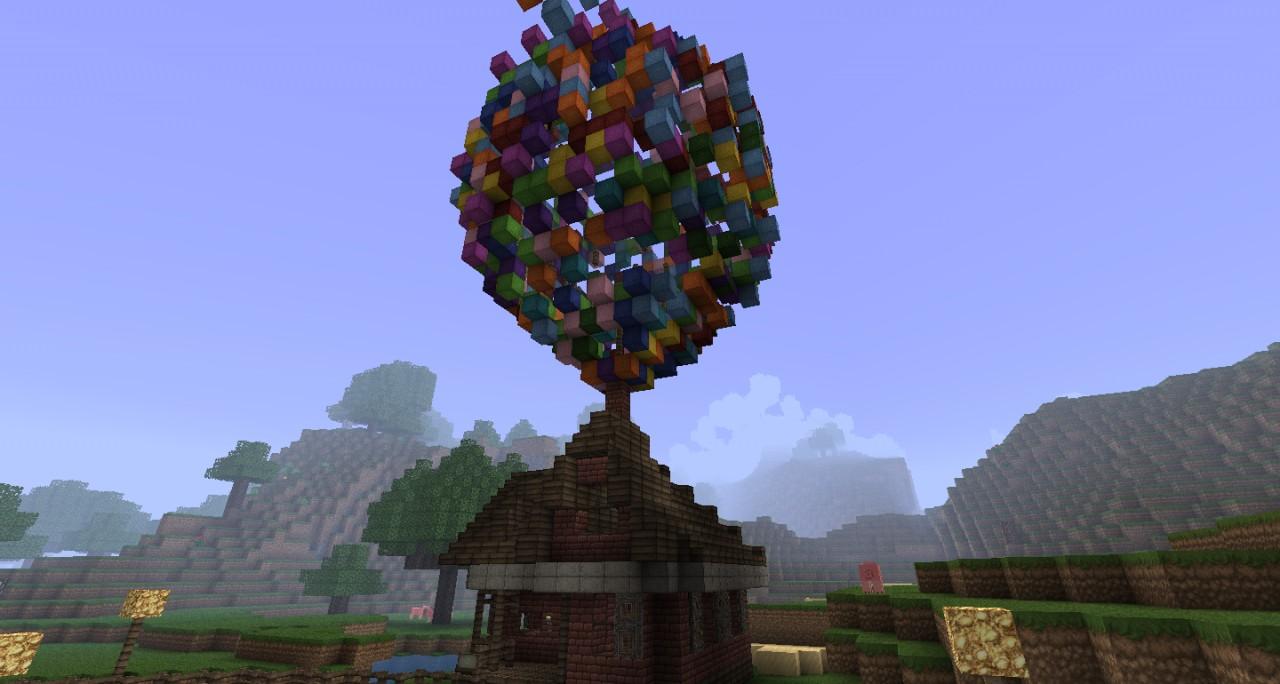 Up Movie Balloon House Up balloon! (the ballon house