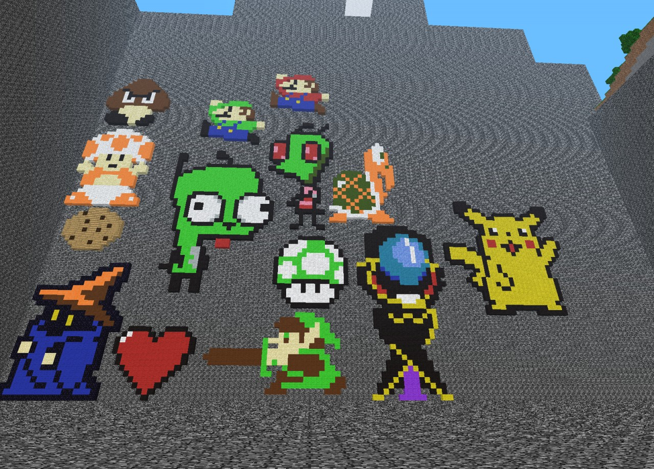pixel art by our beloved players :D