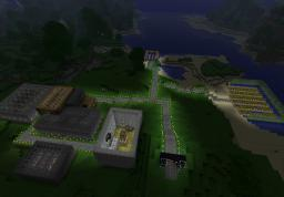 A Town Minecraft Map & Project
