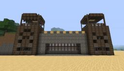 Piston Gate House [1.7] Minecraft Map & Project