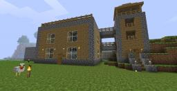 Simple Design House Minecraft Map & Project