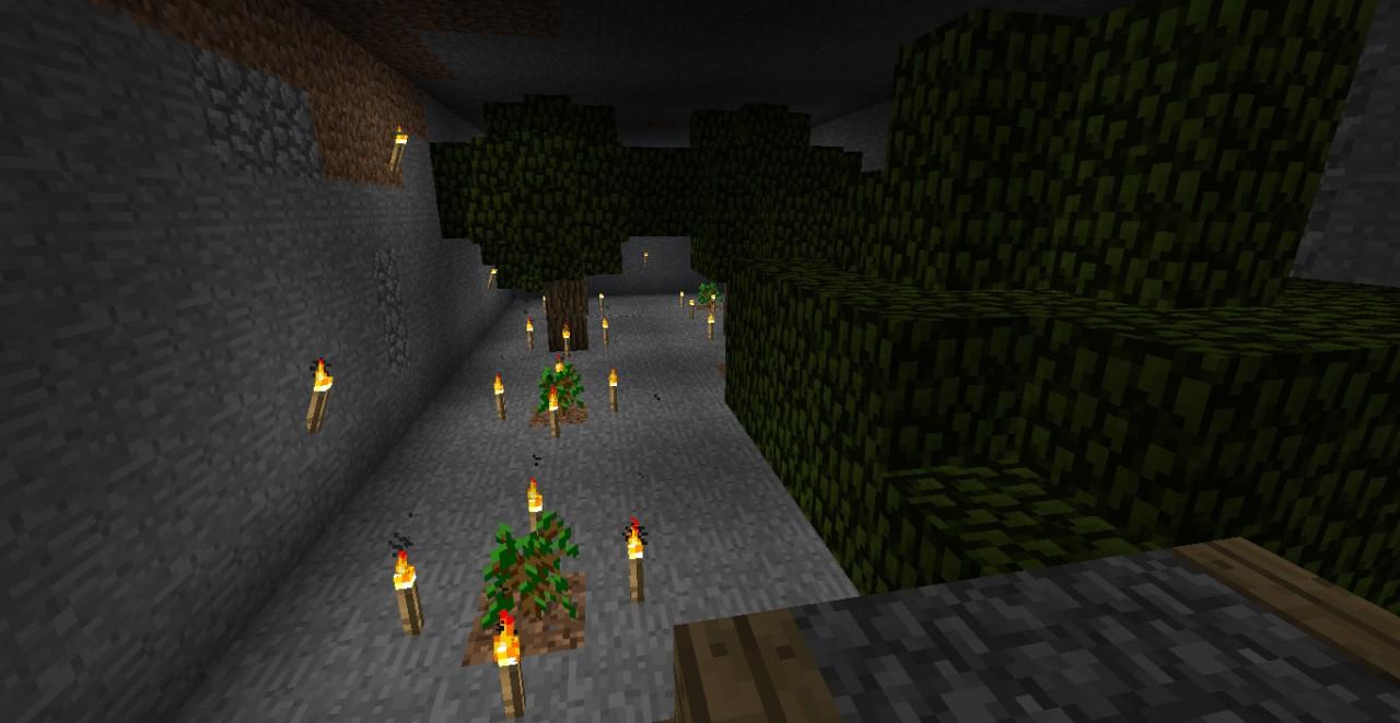 Underground Tree Farm (Just in case!)