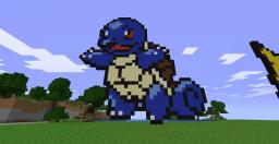 Squirle pokemon, Clear Image to recreate! :D Minecraft Map & Project