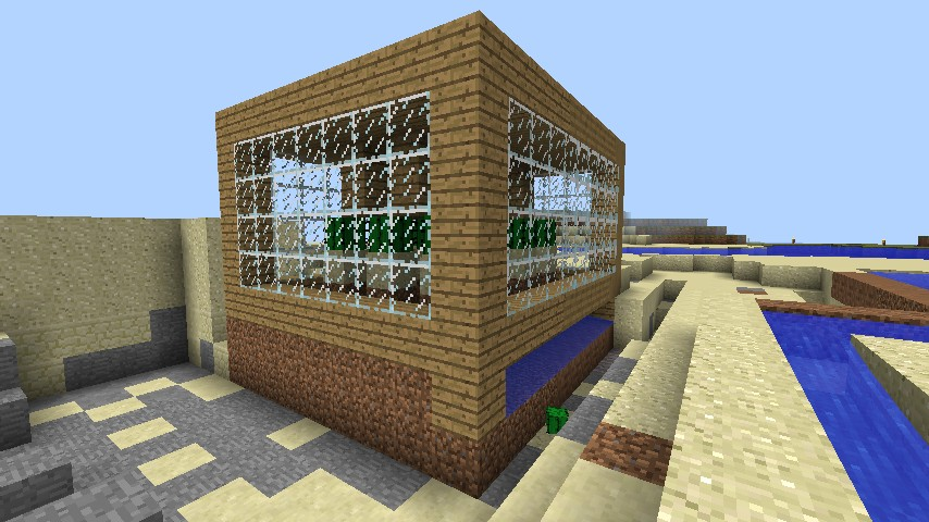 rebuilt Cactus farm from the example plan