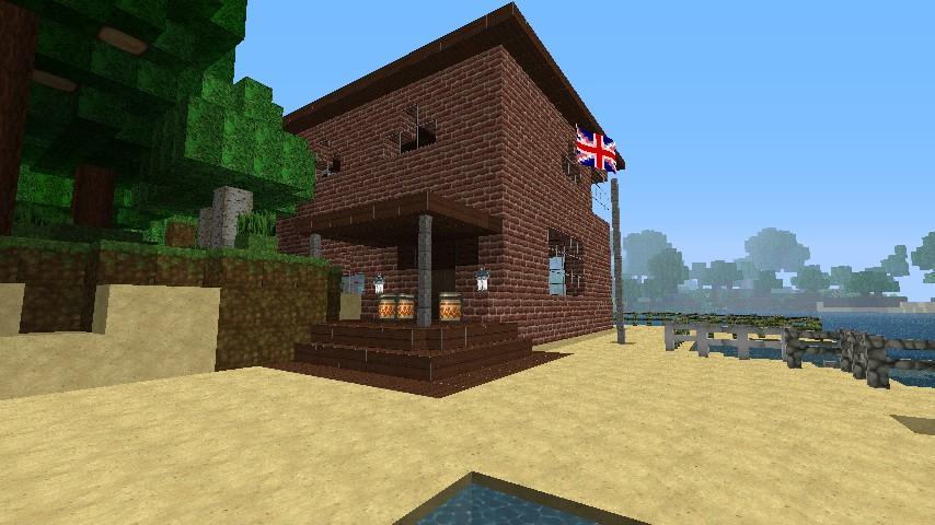 Bacholer House V2 Bricking It With Piston Dog Kennel