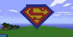 Superman Symbol Minecraft Map & Project