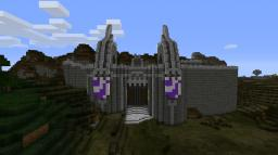 Vas'Trusus City Gates Minecraft Map & Project
