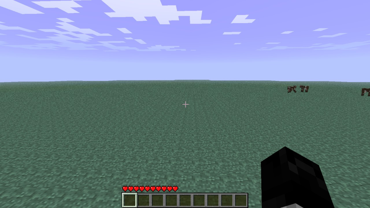 how to make flat windows in minecraft