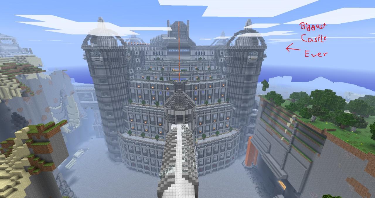 biggest house on minecraft modern house