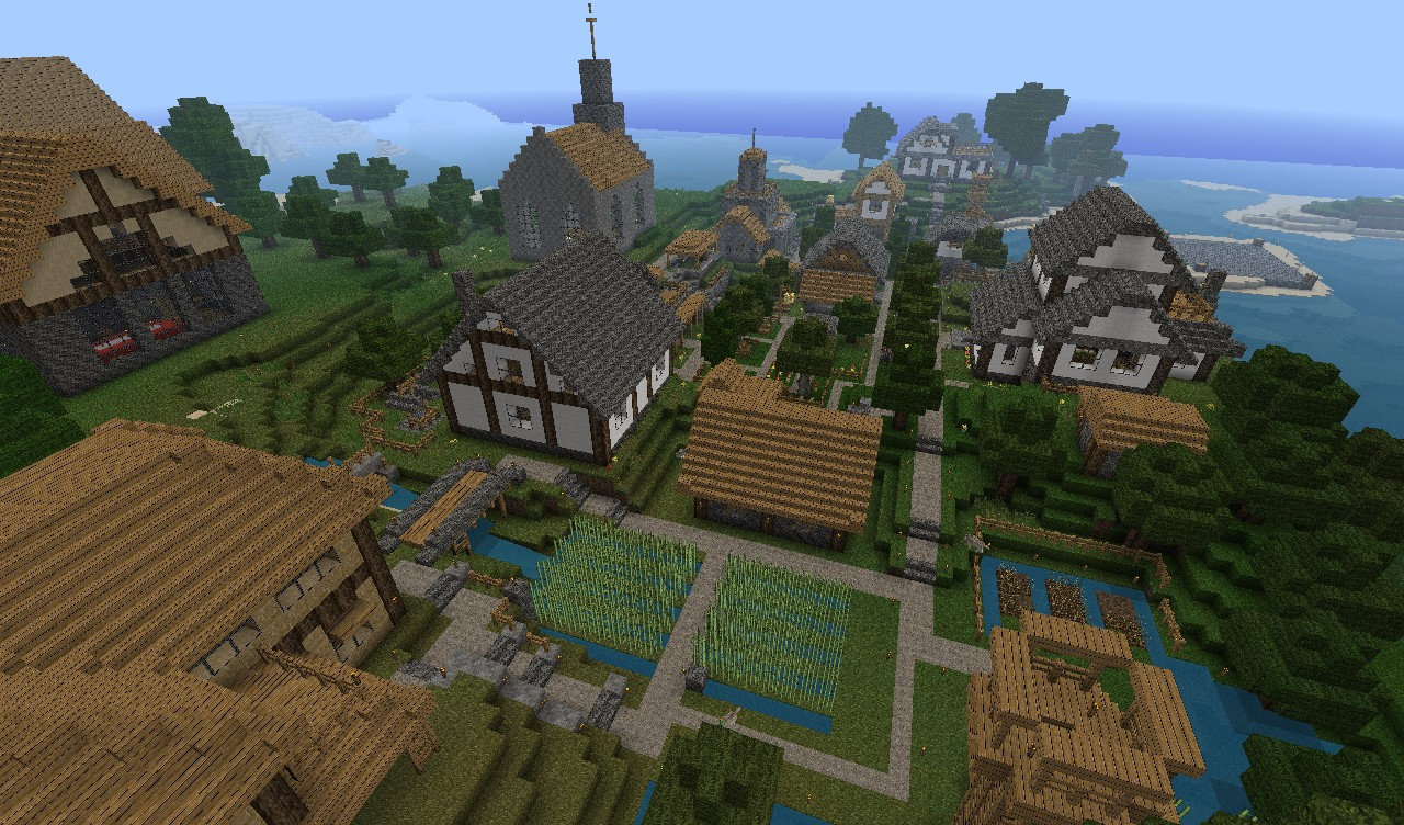 Small Village Minecraft Project