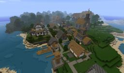 Small Village Minecraft Map & Project