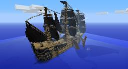 Giant squid attacks ship Minecraft Project