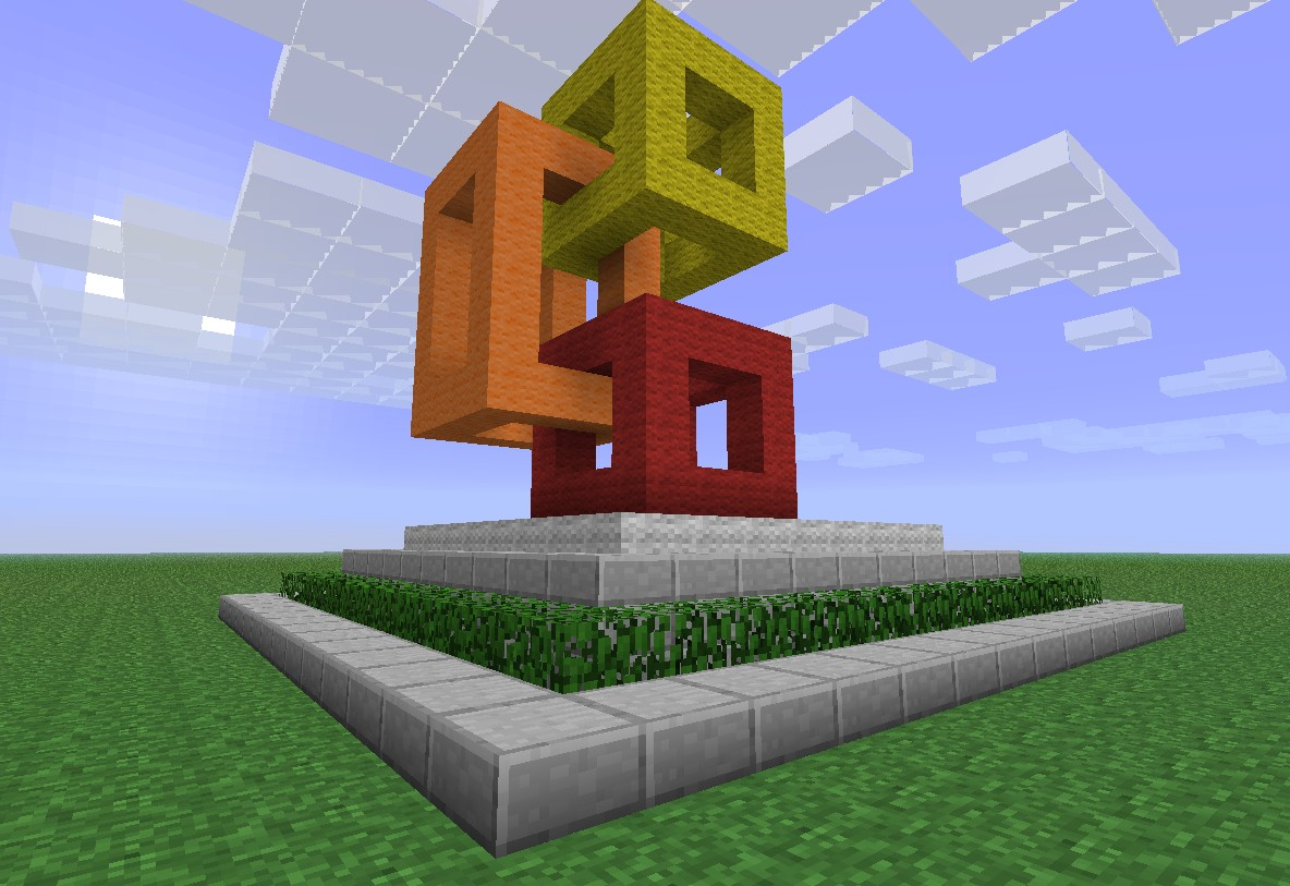 Modern statue minecraft project for Amazing modern houses minecraft