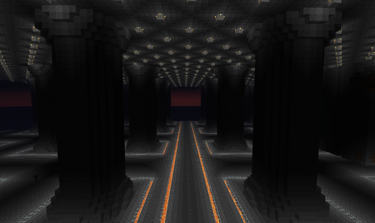the main floor of the mines of moria