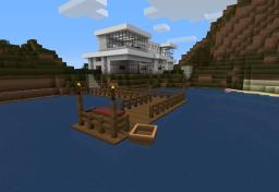 Casa Moderna Minecraft Map & Project