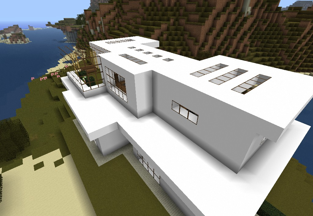 Casa moderna minecraft project for Casa moderna su minecraft