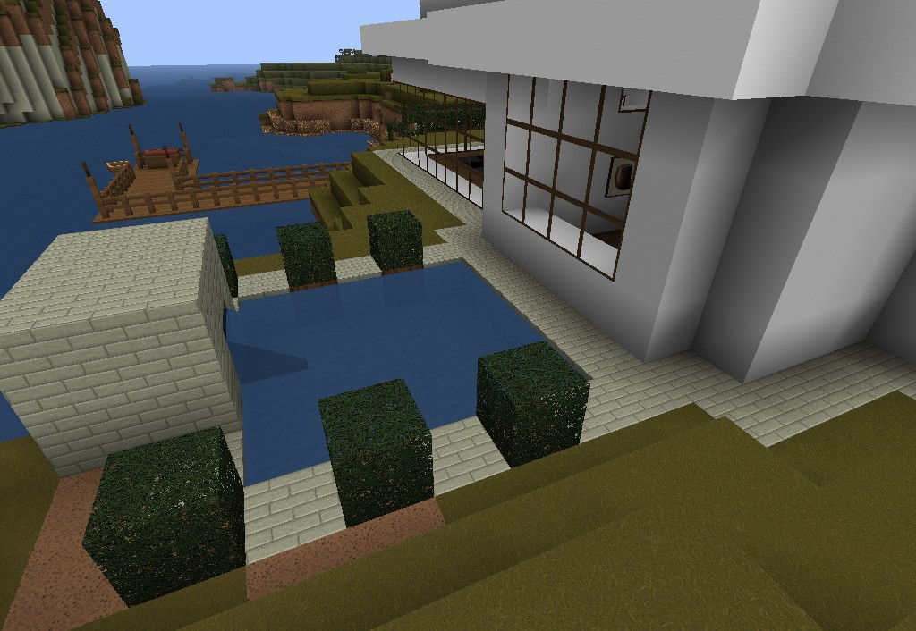 Casa moderna minecraft project for Casa moderna gigante minecraft