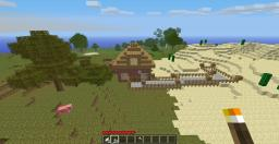 begginers home w/ mine and tree farm Minecraft Map & Project