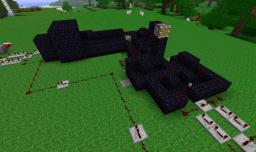Automatic TNT Cannon V3.0 Minecraft Map & Project