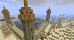 Arabian castle Minecraft