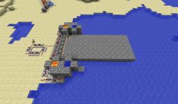 Automatic Piston Bridge Minecraft Map & Project