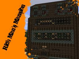 Rich Man's Mansion Minecraft Map & Project