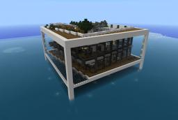Waterfront Home Minecraft Map & Project
