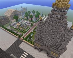 Church and Graveyard Minecraft Map & Project