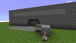 Tunnel Piston Gate Minecraft Project