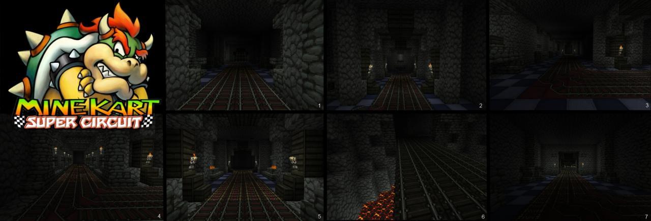 Bowser's Castle 64 (MineKart)