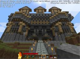 My mansion on alpha Minecraft Map & Project