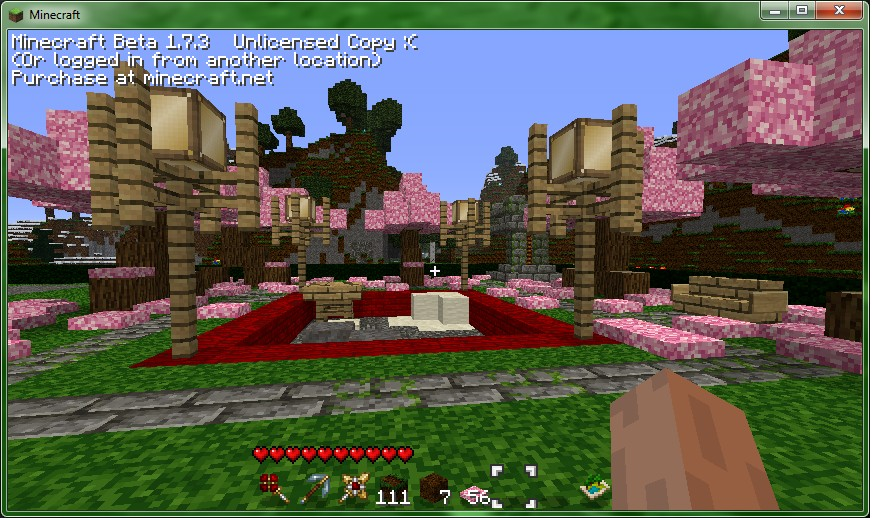exellent minecraft zen garden example in design inspiration - Minecraft Japanese Rock Garden