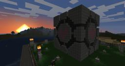 Colossal Companion Cube Minecraft Map & Project