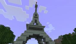 Eiffle Tower [BeastsMC] Minecraft Project