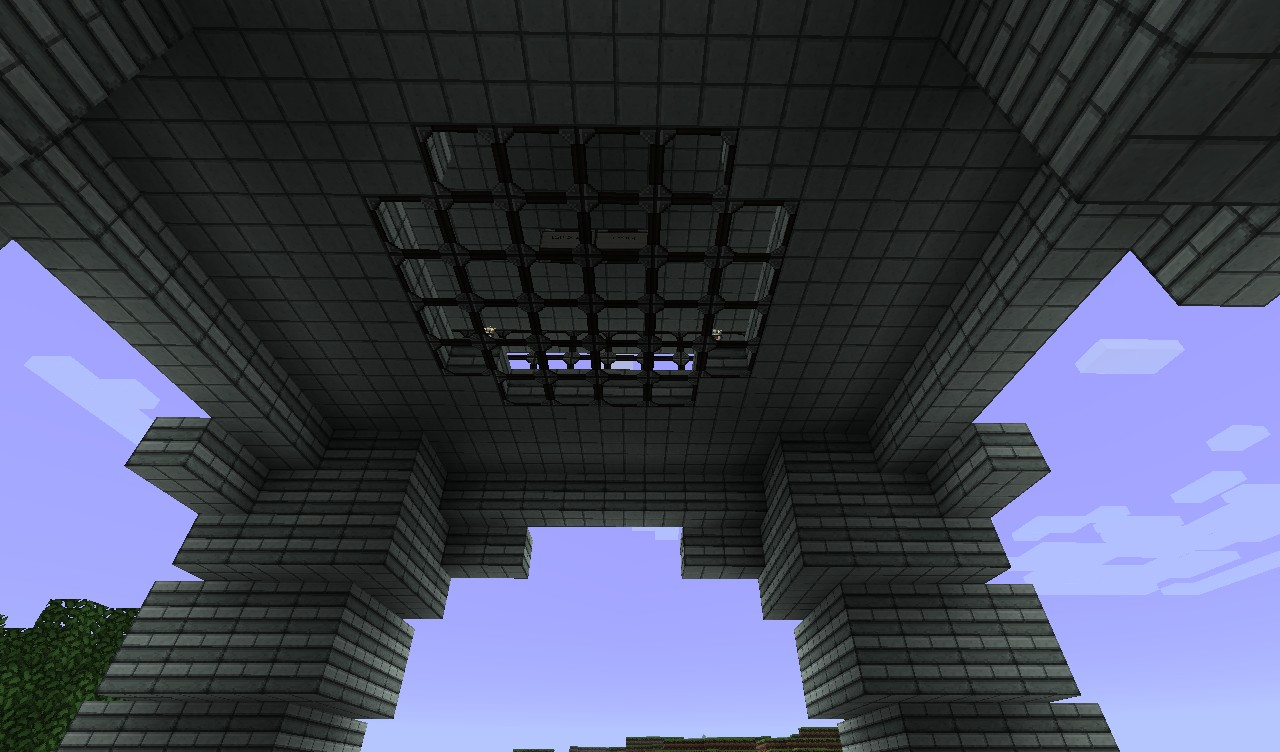 From the base, looking up.
