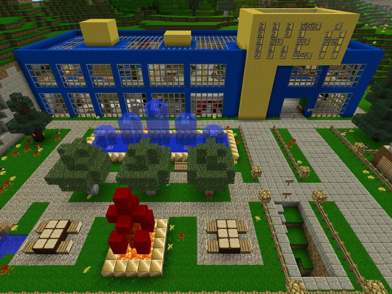 Ikea Shopping Mall Minecraft Project